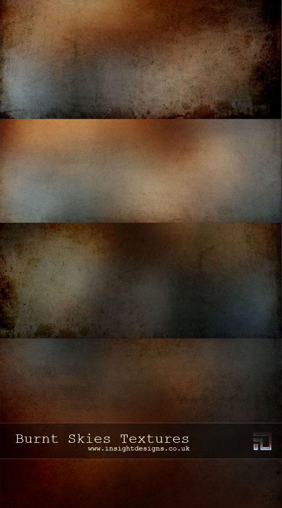Free Texture Grab Burnt Skies by Mephotos