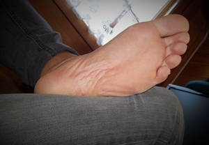 relaxing my foot on saturday