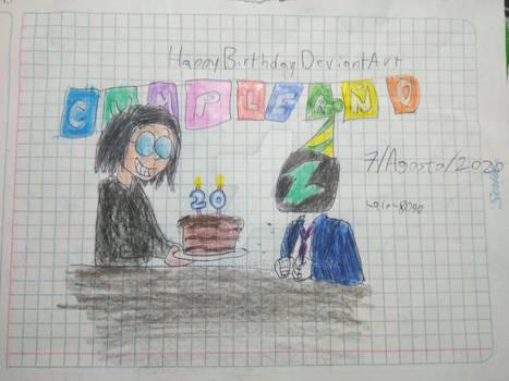 Deviantart's 20th birthday