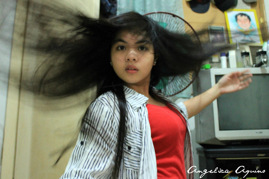 HAIR ADVERT by Angelica-Aquino