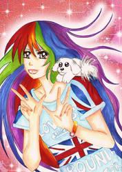 In Rainbow Dash Mood by Babydoll-chan