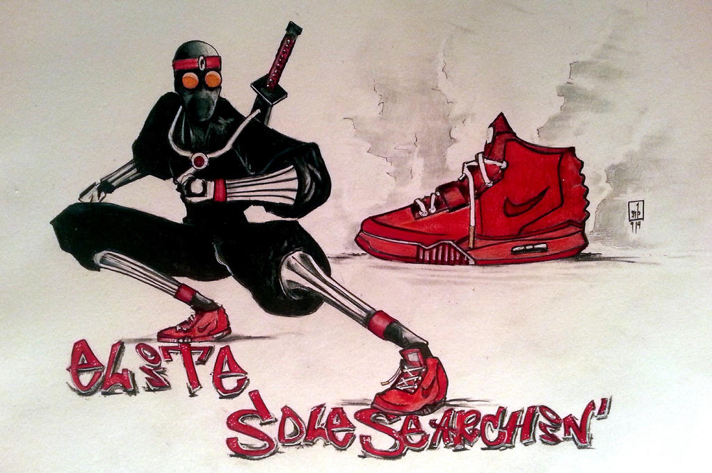 Ninja-shoe concept commish by ringwrm