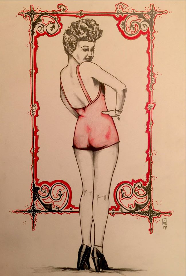 pinup by ringwrm