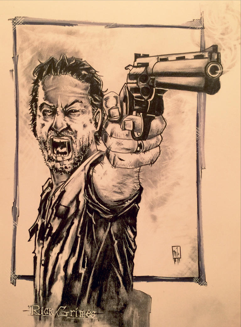 Rick Grimes by ringwrm