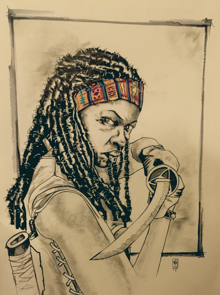 Michonne by ringwrm