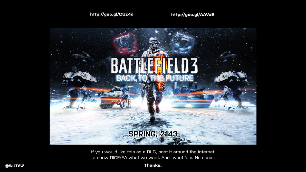 Battlefield 3: Back To The Future '2143' by ...