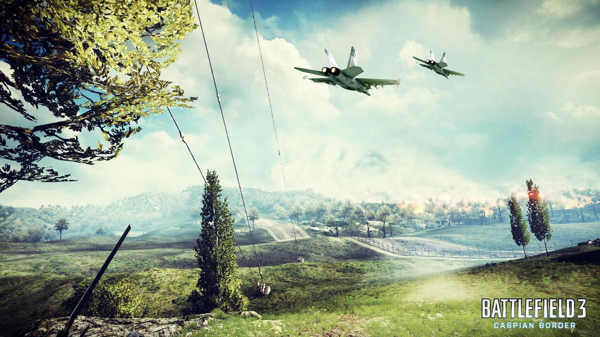 Battlefield 3: Caspian Border By Wirrew On DeviantArt