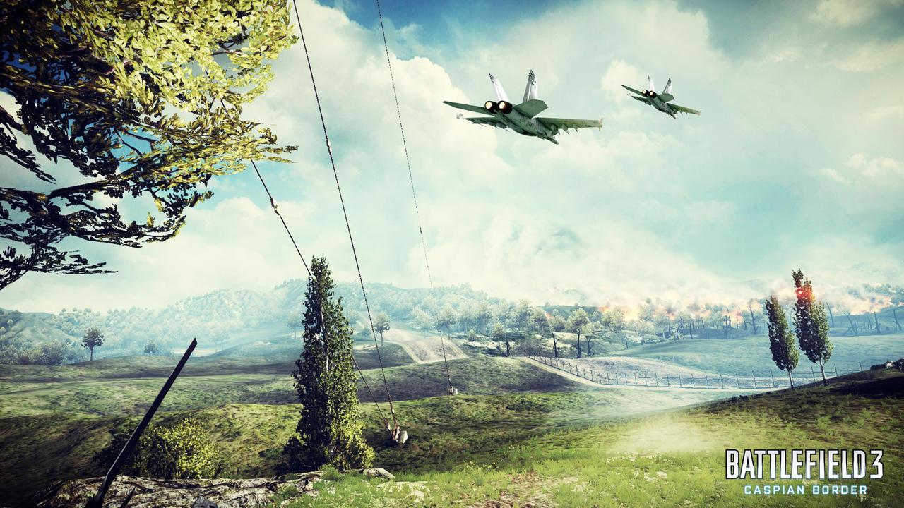 Battlefield 3  Caspian Border by wirrewCaspian Border Battlefield 4