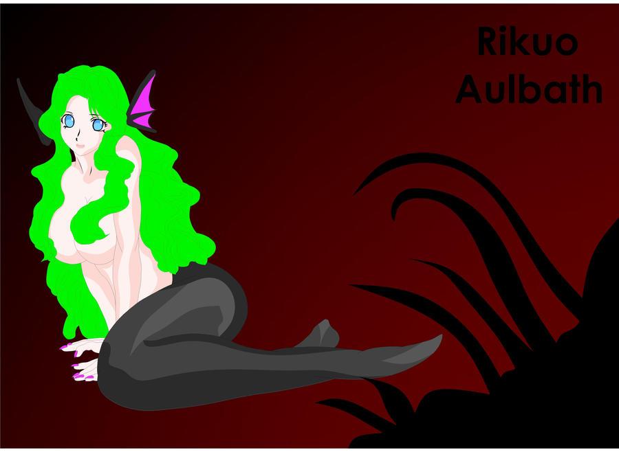 Succubus Rikuo Girl by vampirefoxys