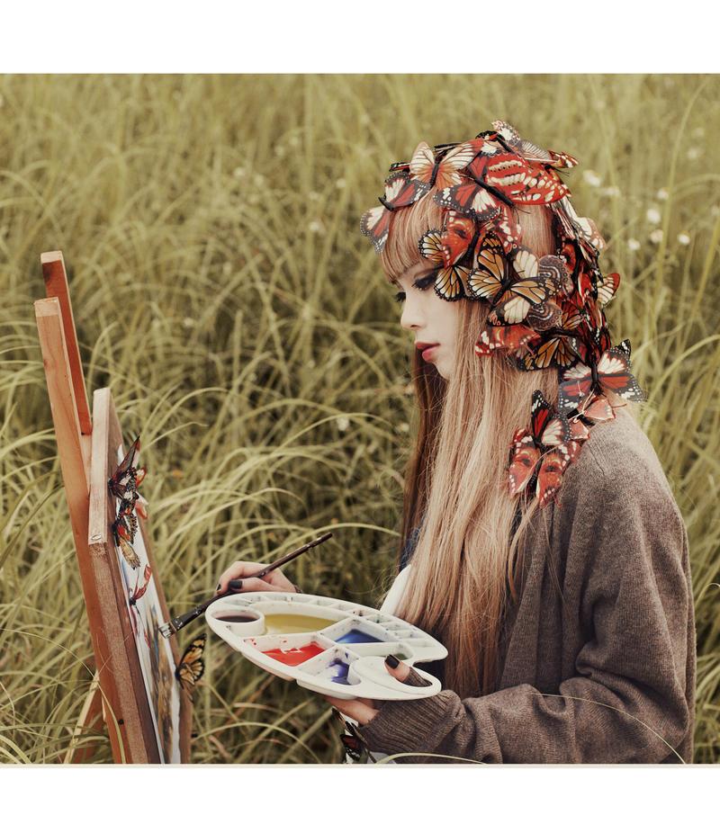 Bloom butterfly by zingruby