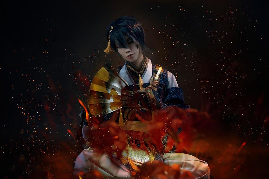 Mikazuki Munechika 02 by zingruby