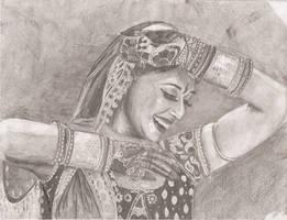 Madhuri Dixit by daraya95