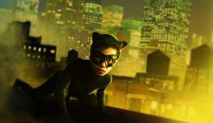 Quick Photo Manipulation Catwoman