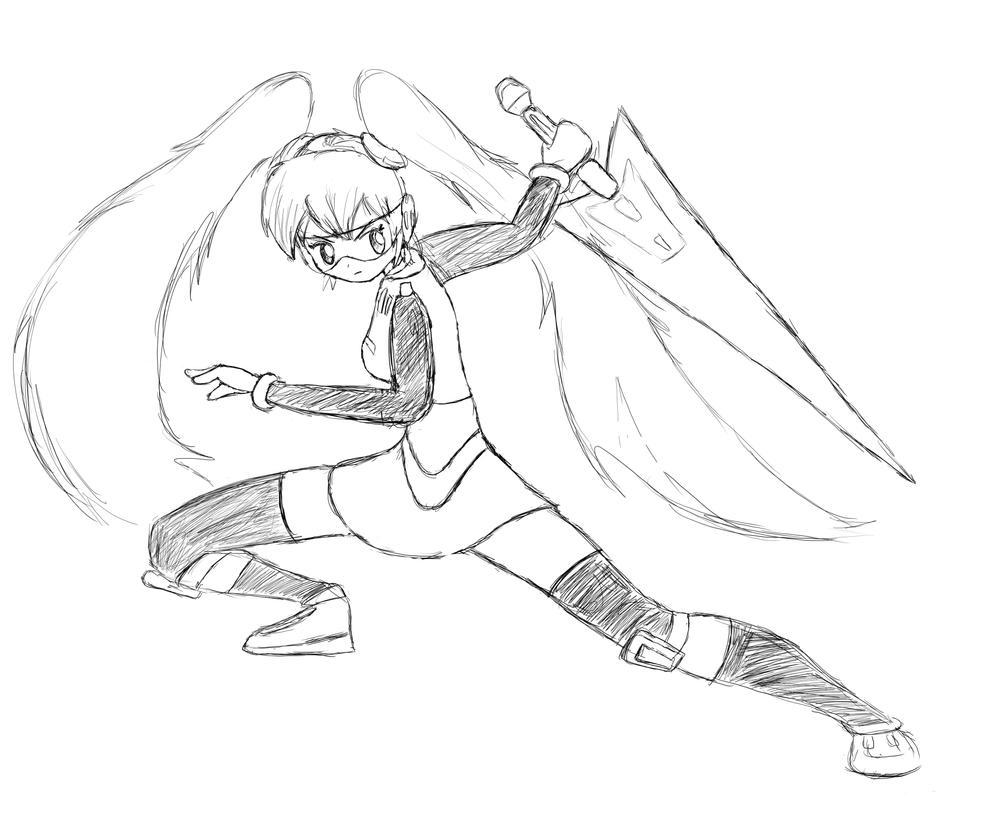 Deadly Blade by DevanArcher101