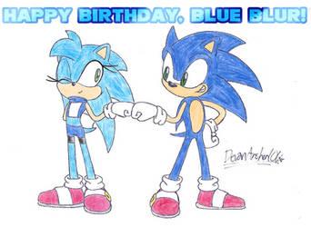 Happy Birthday, Blue Blur