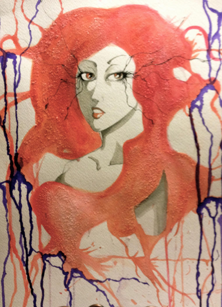 Orange and Purple by cattuccino