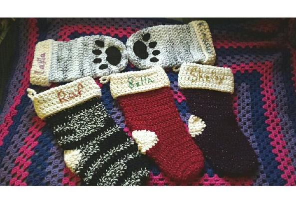 Christmas Stockings by DarkAngelYoshi