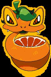 orange (snake) peel - beast feast