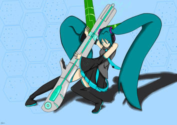 Miku second attempt by renso2