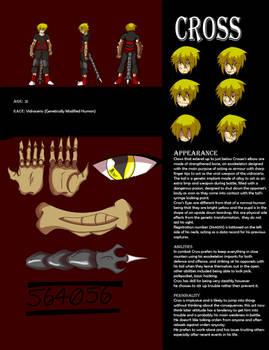 Eden Character Ref Sheet: Cross