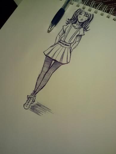 Fashion Sketch by aoi9875