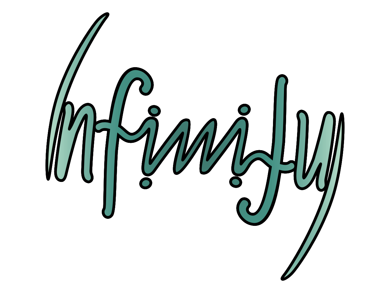 Infinity Ambigram by rickxard