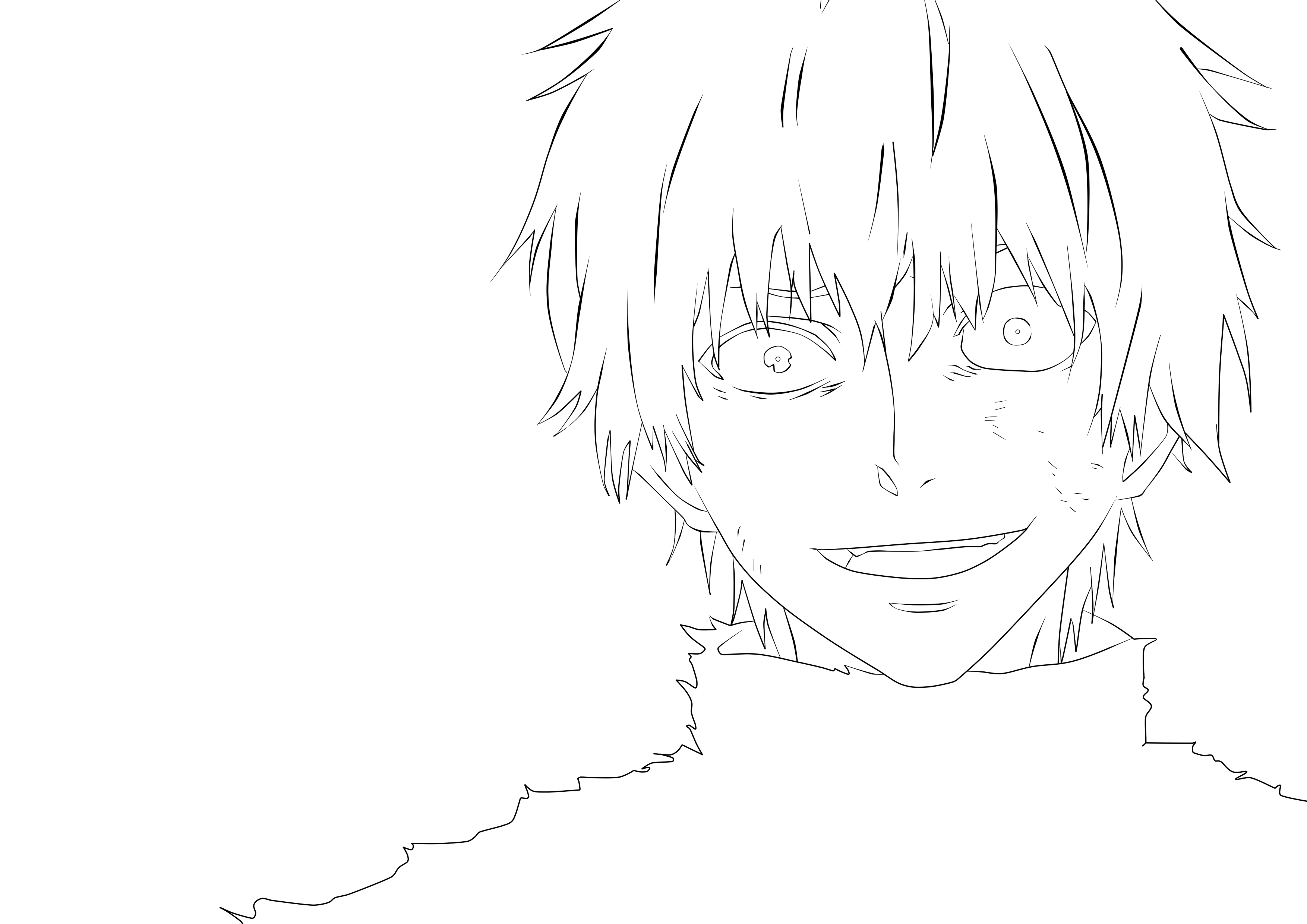 Anime Tokyo Ghoul Kaneki Coloring Pages Anime Wallpapers