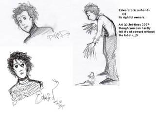Edward SKETCHDUMPhands by Jei-ness