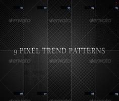 9 pixel trend pattern by boeenet