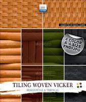 Tiling Woven Vicker pattern by boeenet