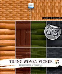 Tiling Woven Vicker pattern