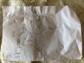 Random doodles from school 4 by Techno-Universal