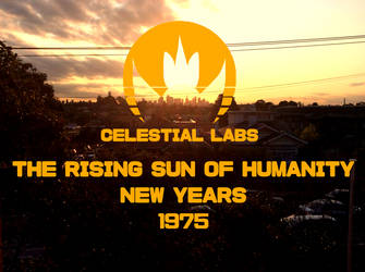 Celestial Labs poster consept by Techno-Universal