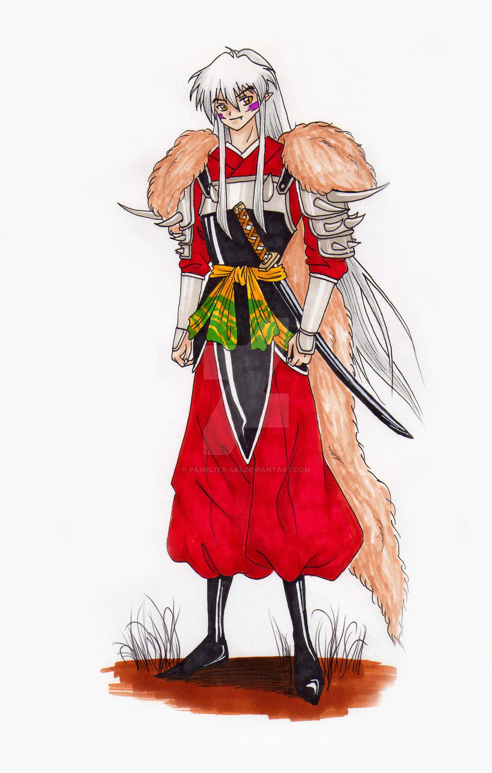 Inuyasha Full Demon Form by Pamelita-483 on DeviantArt