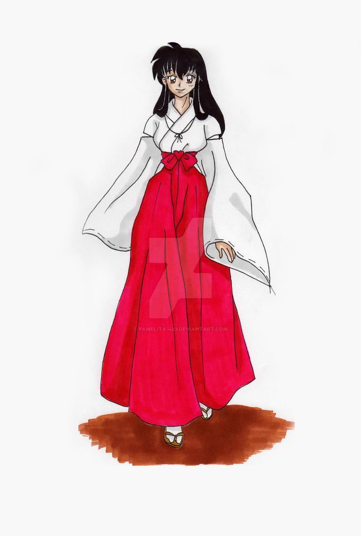 Kagome the Miko - Inuyasha by Pamelita-483 on DeviantArt