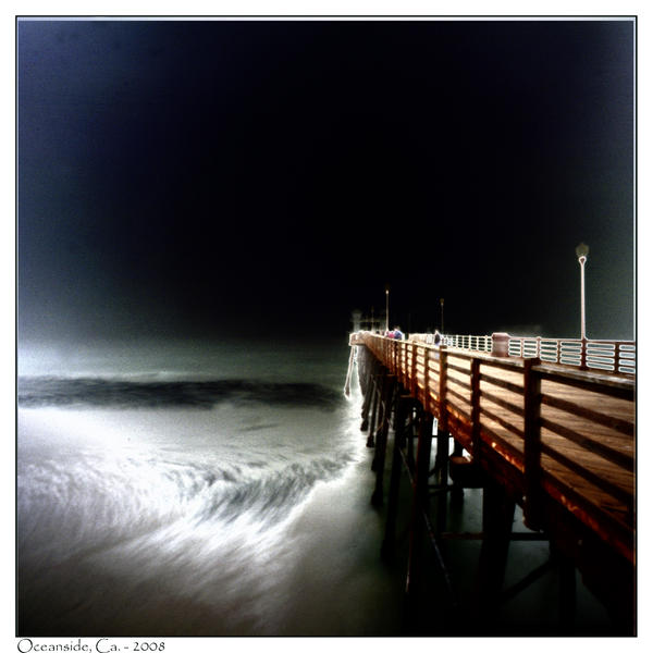 Oceanside Pier Solarized by photodoc2