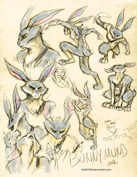 Bunnymund Sketches