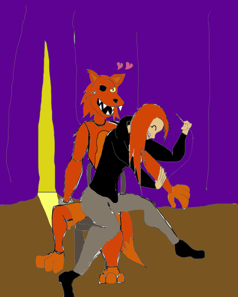 Chapter 1 foxy x oc by thefallenblackrose on deviantart