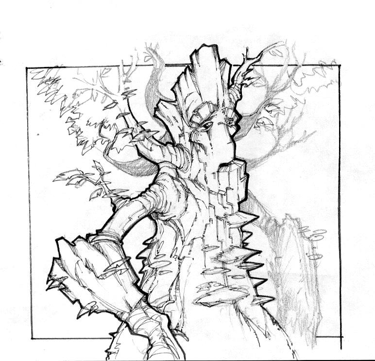 Tree Ent By Bearcavestudios On DeviantArt