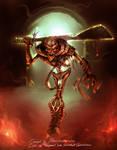 Fearsome skeleton