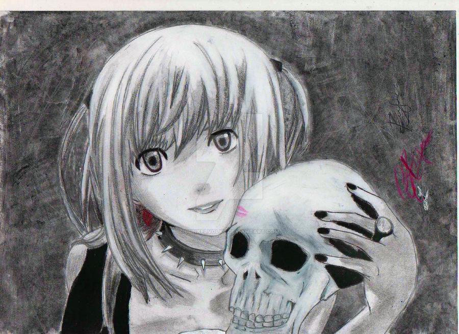 Misa Misa ( Death Note) by Dunkelvolkz