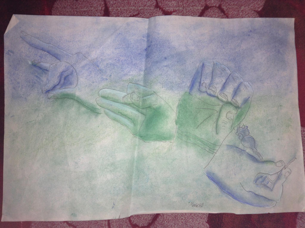 Hands of disposition by MF426