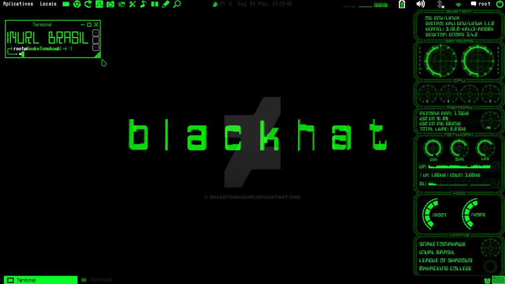 Kali Linux 110a Customized By SnakeTomahawk