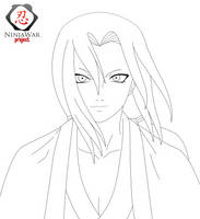 Tsunade Lineart 'NW Project' by CruzerBlade