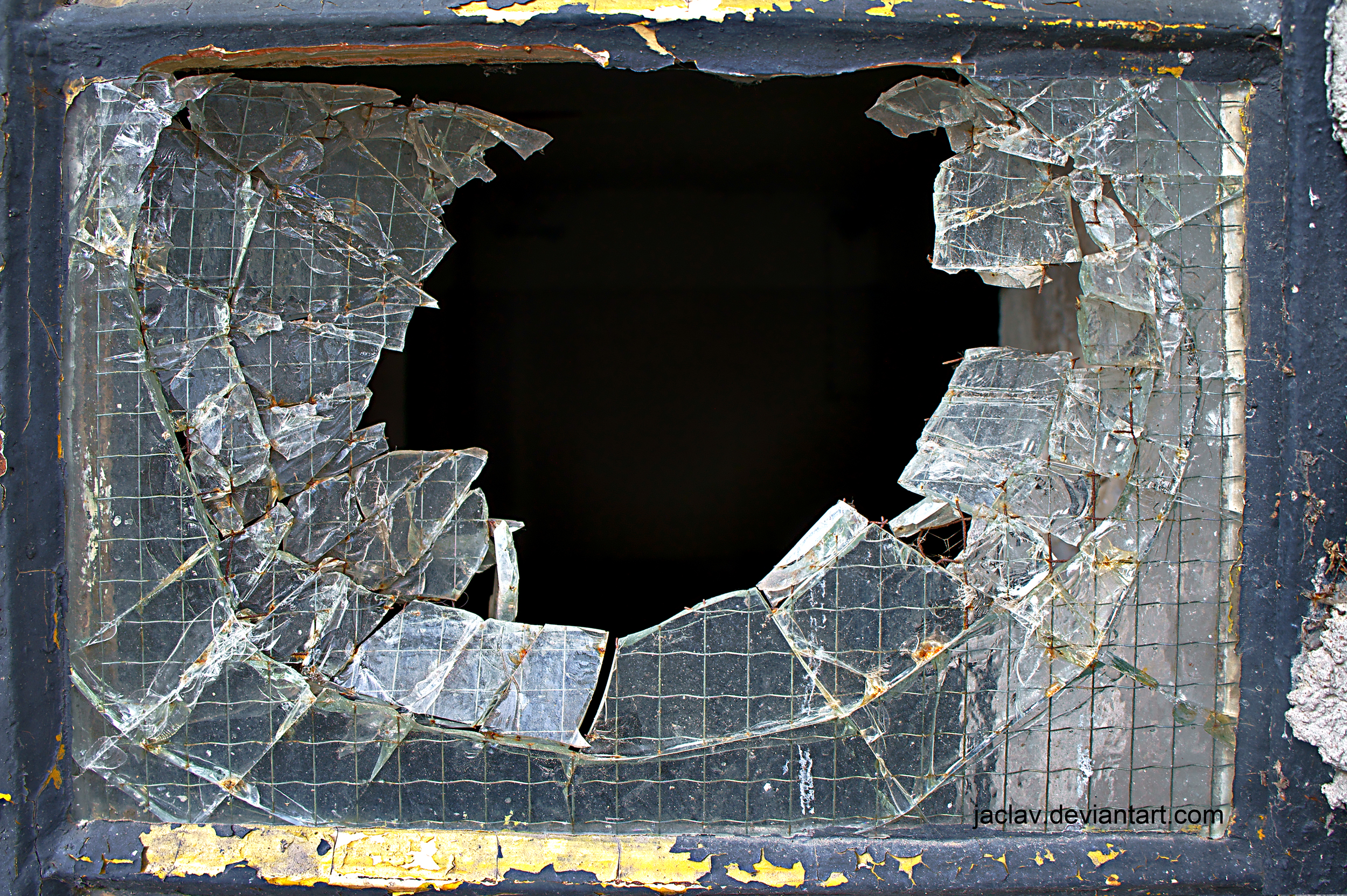 Broken Glass Window : Images about windows on pinterest