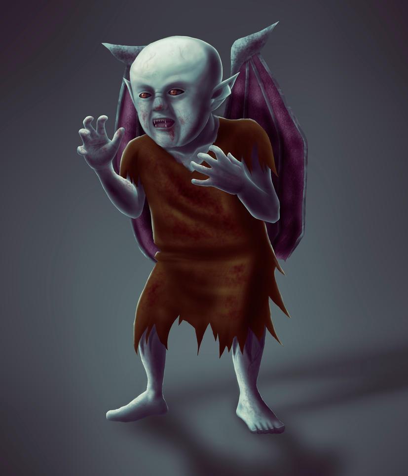 Infant Hellish Vampire by Arte801