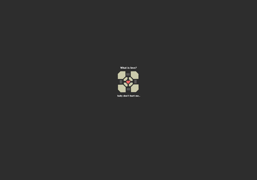 minimalist portal wallpaper by - photo #10
