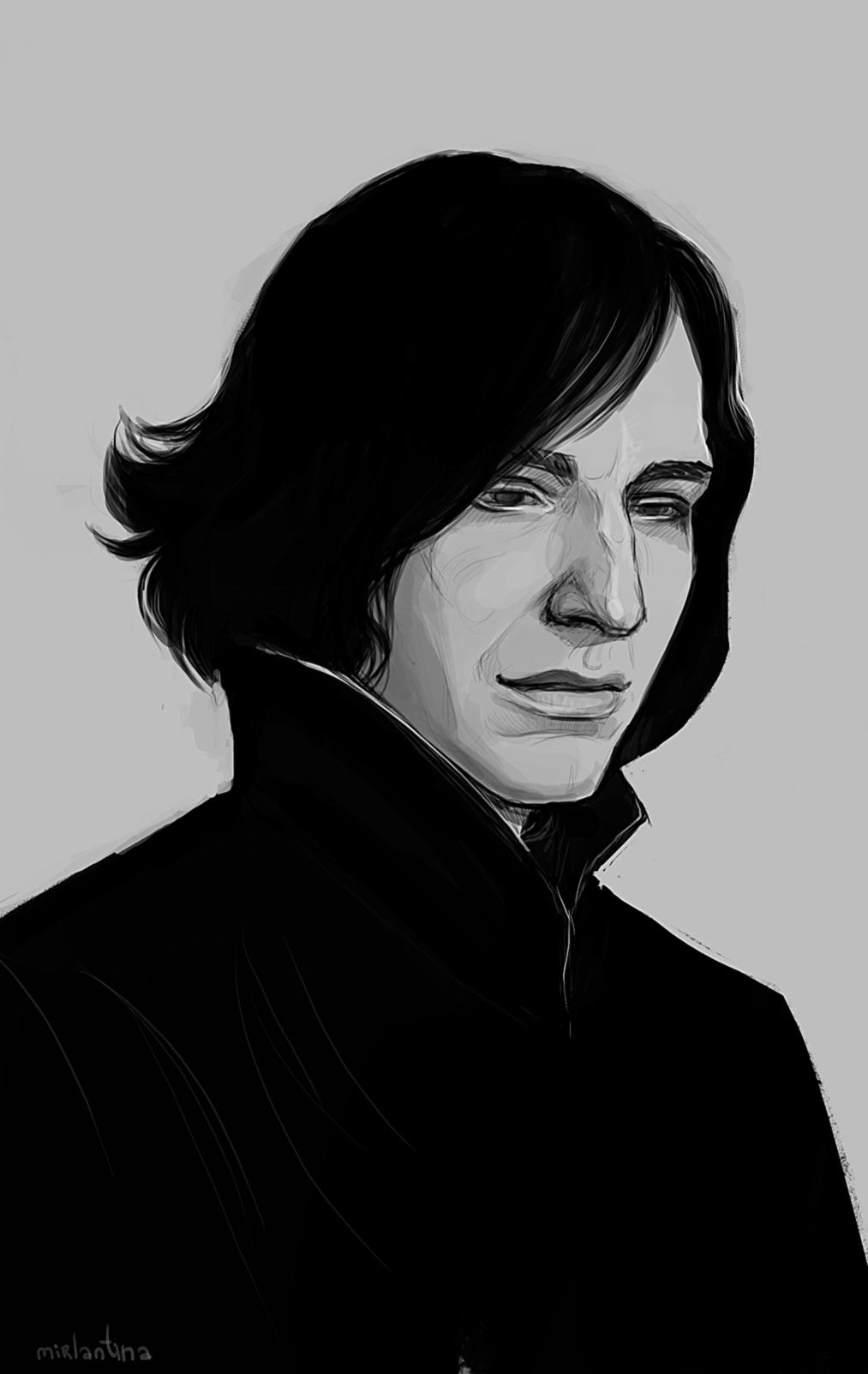 Snape by mirlantinami