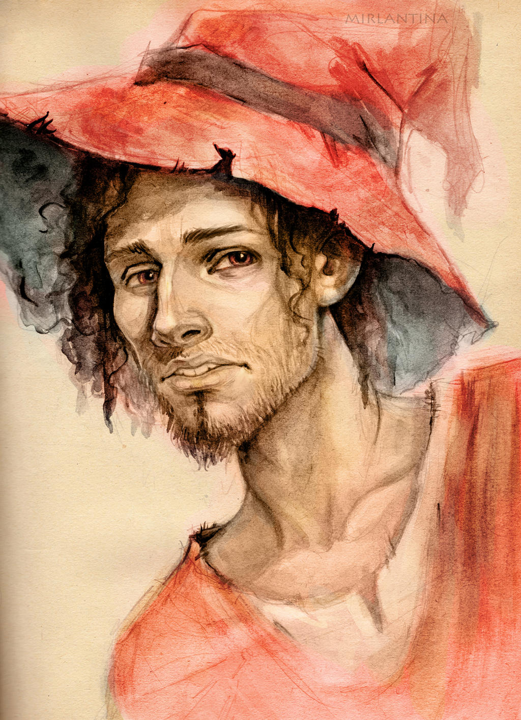 Rincewind the Wizzard by mirlantinami
