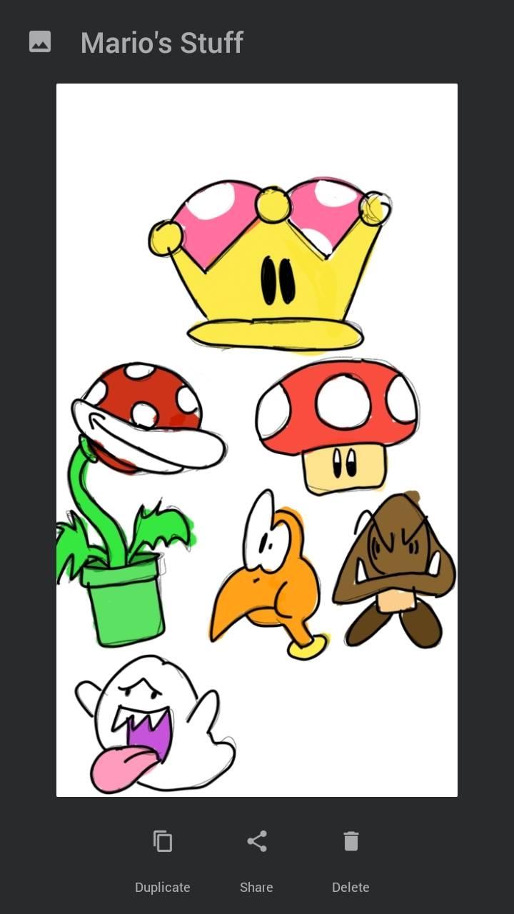 Mario's Stuff